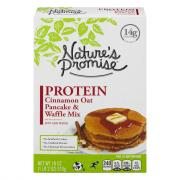 Nature's Promise Protein Cinnamon Oat Pancake & Waffle Mix