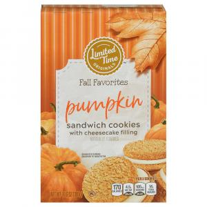 Limited Time Original Pumpkin with Cheesecake Filling