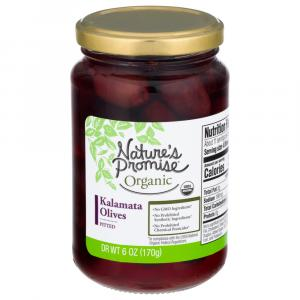 Nature's Promise Organic Pitted Kalamata Olives