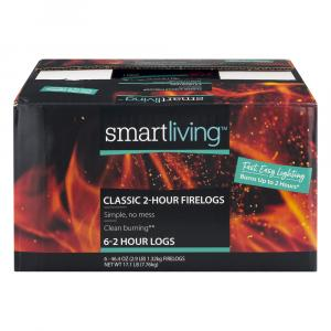 Smart Living Classic 2-Hour Firelogs Case
