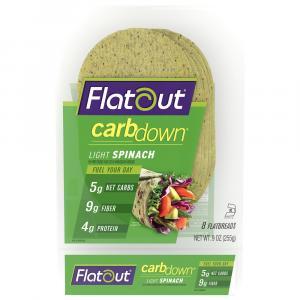 Flatout Carb Down Spinach Wrap