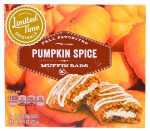 Limited Time Originals Pumpkin Spice Muffin Bars