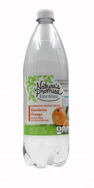 Nature's Promise Sparkling Spring Water Mandarin Orange