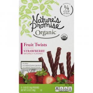Nature's Promise Organic Strawberry Twists