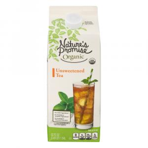 Nature's Promise Organic Unsweetened Tea