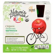 Nature's Promise Kids Organic Unsweetened Applesauce