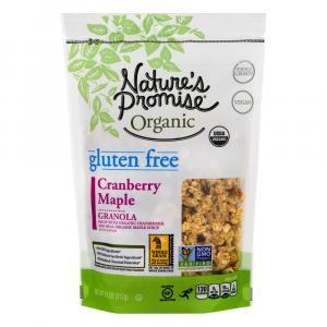 Nature's Promise Organic Gluten Free Cranberry Maple Granola
