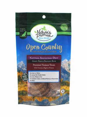 Nature's Promise Open Country Premium Venison Dog Treats