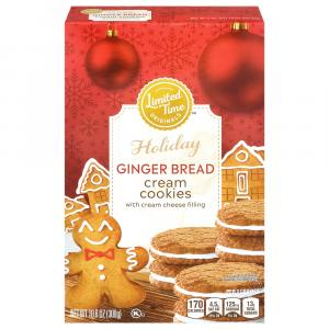 Limited Time Originals Holiday Gingerbread Cookies