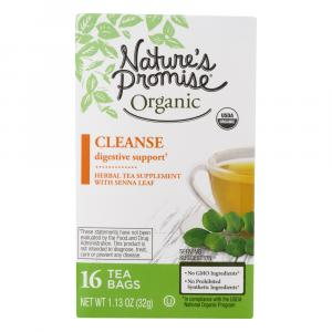 Nature's Promise Organic Cleanse Herbal Tea Supplement