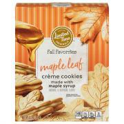 Limited Time Originals Maple Leaf Creme Cookies