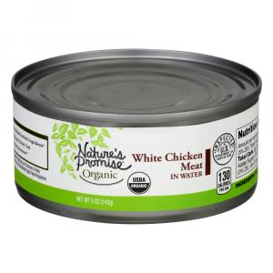 Nature's Promise Organic Chicken Canned