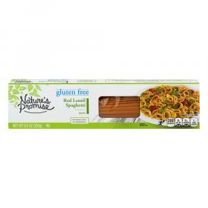 Nature's Promise Gluten Free Red Lentil Spaghetti Pasta