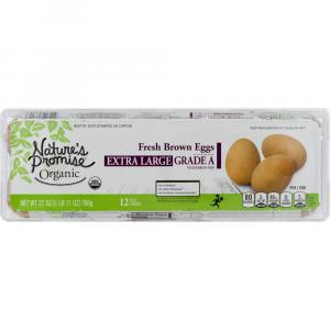 Nature's Promise Organic Cage Free Extra Large Brown Eggs