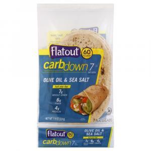 Flatout Carb Down Olive Oil & Sea Salt