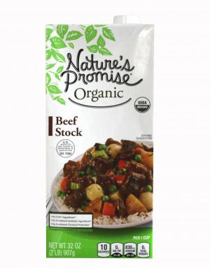Nature's Promise Organic Beef Stock