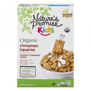 Nature's Promise Kids Organic Cinnamon Squares