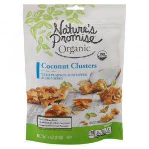 Nature's Promise Organic Coconut Clusters with Pumpkin