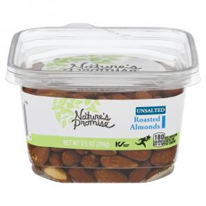 Nature's Promise Roasted Unsalted Almonds