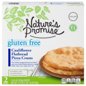 Nature's Promise Gluten Free Cauliflower Flatbread Pizza