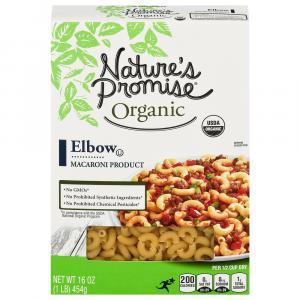 Nature's Promise Organic Elbow Pasta