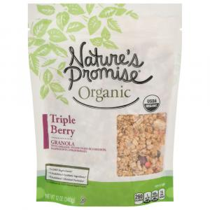 Nature's Promise Organic Triple Berry Granola