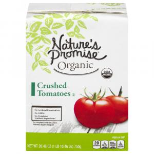 Nature's Promise Organic Crushed Tomatoes