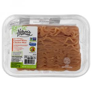 Nature's Promise 99% Ground White Chicken Meat