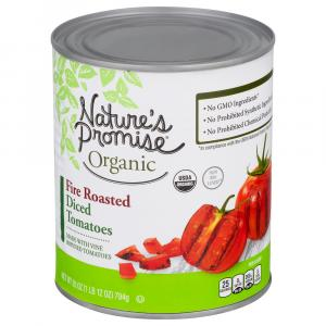 Nature's Promise Organic Fire Roasted Diced Tomatoes