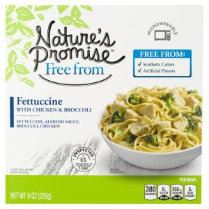 Nature's Promise Fettuccine with Chicken & Broccoli