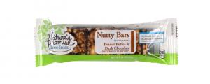 Nature's Promise Nutty Bar Peanut Butter & Dark Chocolate