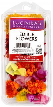Lucinda's Edible Flowers
