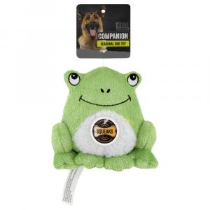 Companion Garden Toad Dog Toy