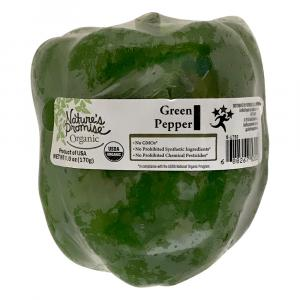 Nature's Promise Organic Green Pepper