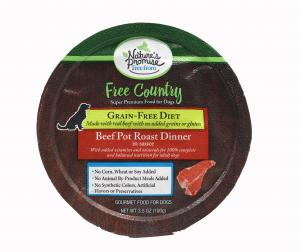 Nature's Promise Free Country Beef Pot Roast Dinner Dog Food