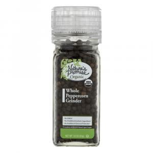 Nature's Promise Organic Whole Peppercorn Grinder