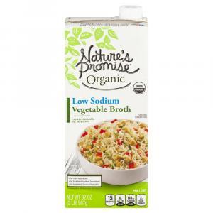 Nature's Promise Organic Low Sodium Vegetable Broth