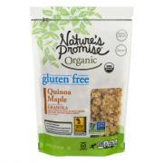Nature's Promise Organic Gluten Free Quinoa Maple Granola