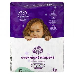 Always My Baby Overnight Diapers Size 6
