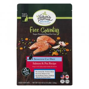 Nature's Promise Free Country Salmon & Pea Recipe Cat Food