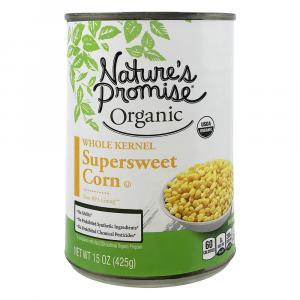 Nature's Promise Organic Whole Kernel Super Sweet Corn