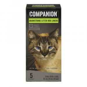 Companion Drawstring Litter Box Liners