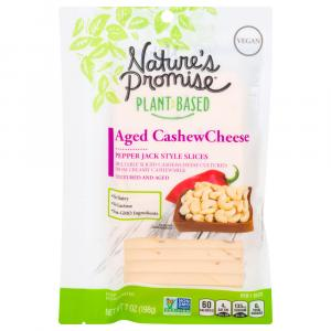 Nature's Promise Aged Cashew Cheese Pepper Jack Style Slices
