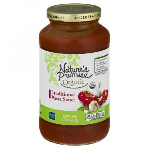 Nature's Promise Organic Traditional Pasta Sauce