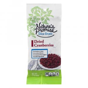 Nature's Promise Seedless Dried Cranberries