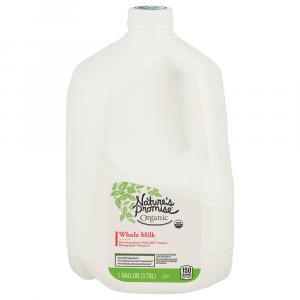 Nature's Promise Organic Whole Milk