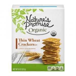 Nature's Promise Organic Thin Wheat Crackers