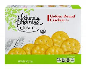Nature's Promise Organic Golden Round Crackers