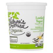 Nature's Promise Organic Vanilla Low Fat Yogurt