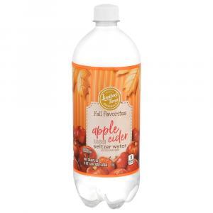Limited Time Originals Apple Cider Flavored Seltzer Water